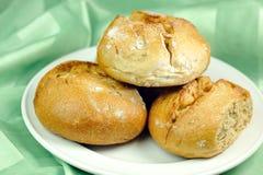 Rulli di pane di Rye Immagine Stock