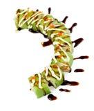 Rulli di sushi fotografie stock libere da diritti