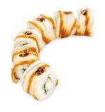 Rulli di sushi Immagine Stock