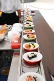 Rulli di sushi Fotografie Stock