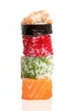 Rulli di sushi Immagine Stock Libera da Diritti