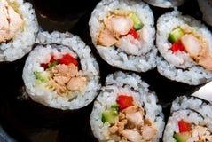 Rulli di sushi di Nori Immagine Stock