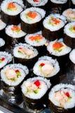 Rulli di sushi di Nori Fotografia Stock