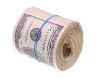 Rullo dei soldi Fotografia Stock Libera da Diritti
