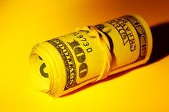 Rullo dei soldi Fotografia Stock