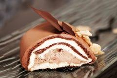 Rullo del cioccolato Fotografie Stock Libere da Diritti