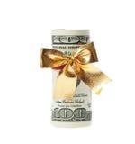 Rullo del dollaro immagine stock