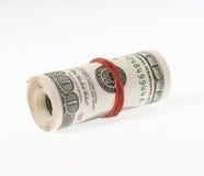 Rullo del dollaro fotografie stock