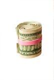 Rullo del dollaro Immagini Stock Libere da Diritti
