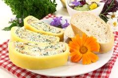 Rullo del formaggio immagine stock