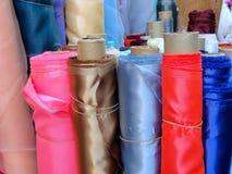 Rullo del tessuto Fotografia Stock