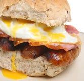 Rullo della prima colazione immagine stock libera da diritti