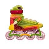 Rullo della verdura immagini stock libere da diritti