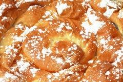 Rullo di pane dolce Immagine Stock Libera da Diritti