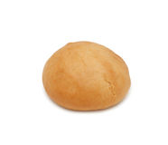 Rullo di pane, isolato Fotografia Stock