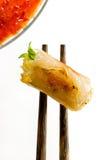 Rullo di Sring fritto Fotografia Stock