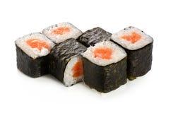 Rullo di sushi Immagine Stock