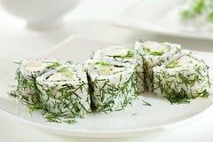 Rullo di sushi Immagini Stock Libere da Diritti