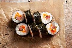 Rullo di sushi Fotografie Stock Libere da Diritti