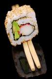 Rullo di sushi della California immagini stock libere da diritti
