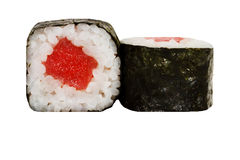 Rullo di sushi fresco Fotografia Stock