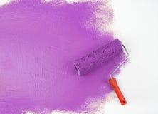 Rullo di vernice immagine stock