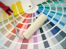 Rullo di vernice fotografia stock libera da diritti