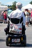 rullstol för amputeeveteranvietname arkivfoton