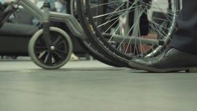 Rullstol för oof för sikt för låg vinkel