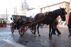 Rullstol som väntar på turister Royaltyfri Fotografi
