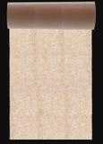 rulltextur för originellt papper Arkivfoto