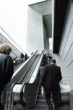 rulltrappa Arkivbilder