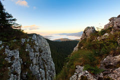 Rumäne Rarau-Berg Lizenzfreie Stockfotografie