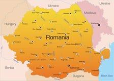 Rumänien vektor illustrationer