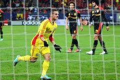 Rumänien Belgien lizenzfreie stockbilder