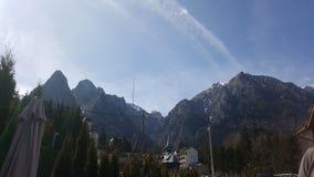 Rumänien berg Royaltyfri Foto