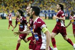 Rumänien cupfinal: Petrolul Ploiesti - CFR Cluj Fotografering för Bildbyråer
