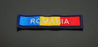Rumänien emblem arkivfoto