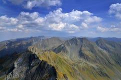 Rumänien Fagaras berg arkivfoton