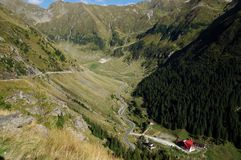 Rumänien, Fagaras-Berge am Sommer Lizenzfreie Stockfotografie
