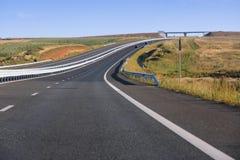 Rumänien motorway Arkivfoton