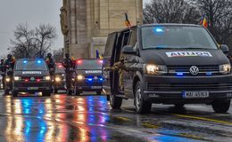 Rumänien-Nationaltag, rumänische Polizei