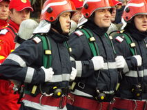 Rumänien-Nationaltagfeier, am 1. Dezember 2015 lizenzfreie stockbilder