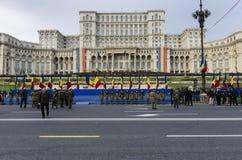 Rumänien nationell dag Arkivbild