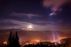 Rumänien - Prahova dal Arkivfoton
