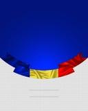 Rumänien rumänsk flagga Arkivfoton