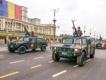 Rumänien soldater Royaltyfria Bilder