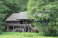 Rumänien - traditionelles Haus Lizenzfreie Stockbilder