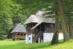 Rumänien - traditionelles Haus Lizenzfreie Stockfotos