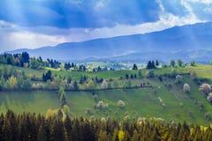 Rumänien Transylvania Arkivfoton